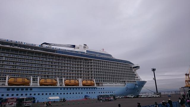 函館に寄港した豪華クルーズ客船の撮影記録